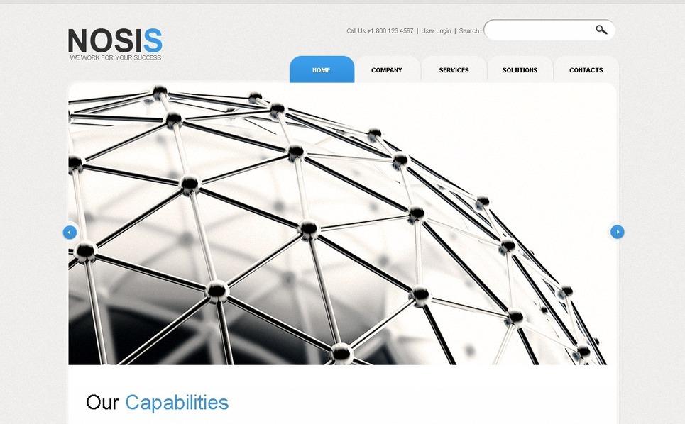 Szablon PSD #54459 na temat: biznes i usługi New Screenshots BIG