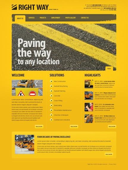 PSD макет сайта №54463