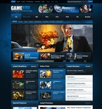 Games PSD  Template 54465