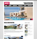 Architecture PSD  Template 54475