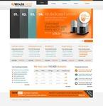 Web Hosting PSD  Template 54476