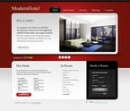 Hotels PSD  Template 54477