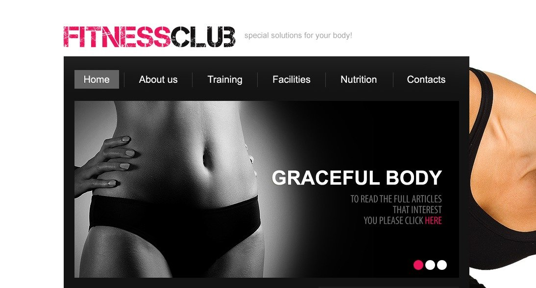 The Fitness Club Center PSD Design 54479, one of the best PSD templates of its kind (sport, wide, jquery), also known as fitness club center PSD template, sport PSD template, shaping PSD template, service PSD template, personal training PSD template, facilities PSD template, nutrition PSD template, body PSD template, muscle PSD template, diet PSD template, health care PSD template, beauty PSD template, weight loss PSD template, group PSD template, exercises PSD template, recipes PSD template, fruits PSD template, vitamins PSD template, lean PSD template, stamina PSD template, training PSD template, apparatus PSD template, instructor PSD template, schedule PSD template, membership PSD template, yoga PSD template, meditation and related with fitness club center, sport, shaping, service, personal training, facilities, nutrition, body, muscle, diet, health care, beauty, weight loss, group, exercises, recipes, fruits, vitamins, lean, stamina, training, apparatus, instructor, schedule, membership, yoga, meditation, etc.
