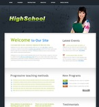 Education PSD  Template 54482