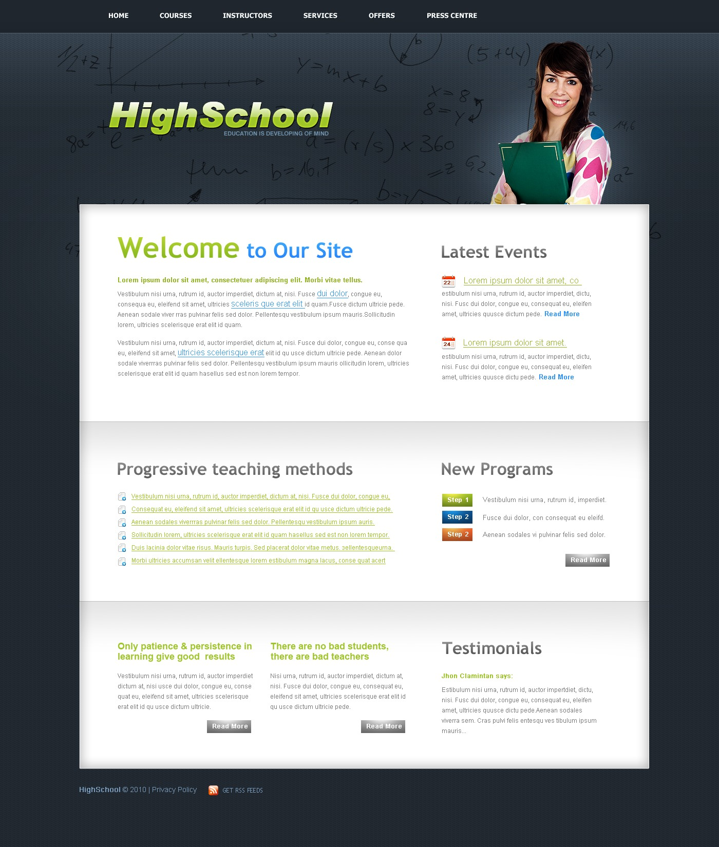 The High School PSD Design 54482, one of the best PSD templates of its kind (education, wide), also known as high school PSD template, education center PSD template, college PSD template, science PSD template, admission PSD template, faculty PSD template, department PSD template, class PSD template, alumni PSD template, student PSD template, professor PSD template, enrolment PSD template, union PSD template, library PSD template, auditorium PSD template, graduate PSD template, direction PSD template, tests PSD template, entrance PSD template, examination PSD template, exam PSD template, sport PSD template, community PSD template, party PSD template, administration PSD template, rector PSD template, head PSD template, dean PSD template, college and related with high school, education center, college, science, admission, faculty, department, class, alumni, student, professor, enrolment, union, library, auditorium, graduate, direction, tests, entrance, examination, exam, sport, community, party, administration, rector, head, dean, college, etc.