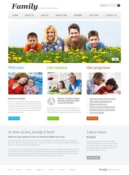 PSD макет сайта №54491