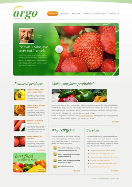 PSD макет сайта №54495