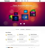 Web design PSD  Template 54498