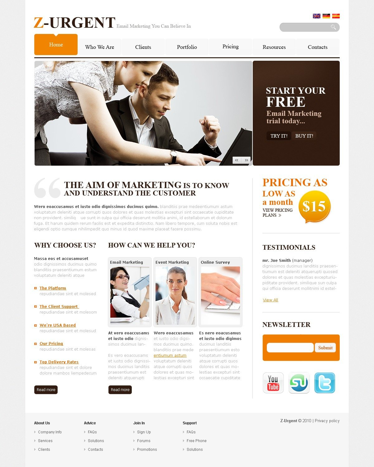 The Z-urgent Business Company PSD Design 54501, one of the best PSD templates of its kind (business, flash 8, wide), also known as z-urgent business company PSD template, corporate solutions PSD template, innovations PSD template, contacts PSD template, service PSD template, support PSD template, information dealer PSD template, stocks PSD template, team PSD template, success PSD template, money PSD template, marketing PSD template, director PSD template, manager PSD template, analytics PSD template, planning PSD template, limited PSD template, office PSD template, sales and related with z-urgent business company, corporate solutions, innovations, contacts, service, support, information dealer, stocks, team, success, money, marketing, director, manager, analytics, planning, limited, office, sales, etc.