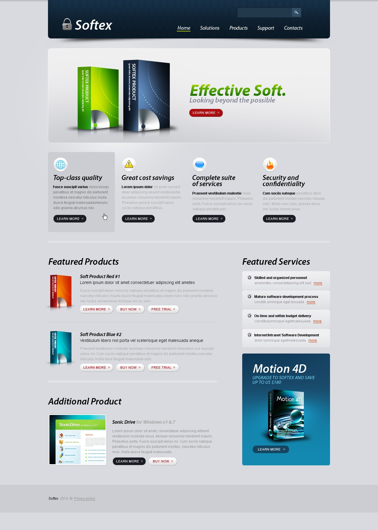 The Softex Software Company PSD Design 54506, one of the best PSD templates of its kind (software, most popular, wide), also known as softex software company PSD template, enterprise solution PSD template, business PSD template, industry PSD template, technical PSD template, clients PSD template, customer support PSD template, automate PSD template, flow PSD template, services PSD template, plug-in PSD template, flex PSD template, profile PSD template, principles PSD template, web products PSD template, technology system and related with softex software company, enterprise solution, business, industry, technical, clients, customer support, automate, flow, services, plug-in, flex, profile, principles, web products, technology system, etc.