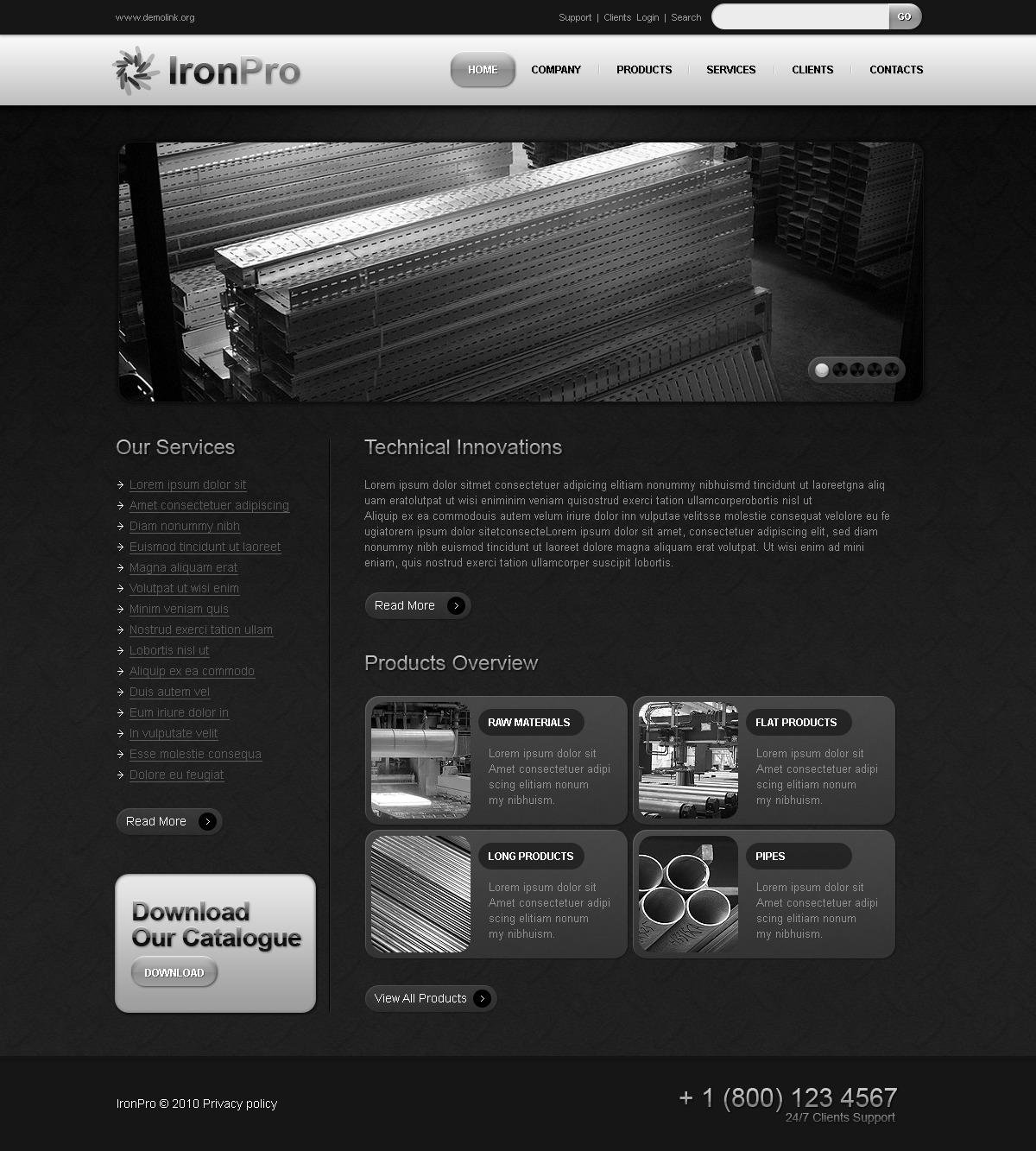 The Ironpro Steel PSD Design 54507, one of the best PSD templates of its kind (industrial, flash 8, wide), also known as ironpro steel PSD template, processing PSD template, welding company PSD template, industry PSD template, steel PSD template, workshop PSD template, business PSD template, modern facility PSD template, scarf PSD template, autogenous PSD template, oxy-acetylene PSD template, arc PSD template, staff PSD template, about PSD template, us PSD template, products PSD template, contacts PSD template, industry PSD template, pick PSD template, process PSD template, quality PSD template, construction PSD template, excellent PSD template, aftercare PSD template, service PSD template, delivery PSD template, time PSD template, work PSD template, job  su and related with ironpro steel, processing, welding company, industry, steel, workshop, business, modern facility, scarf, autogenous, oxy-acetylene, arc, staff, about, us, products, contacts, industry, pick, process, quality, construction, excellent, aftercare, service, delivery, time, work, job  su, etc.