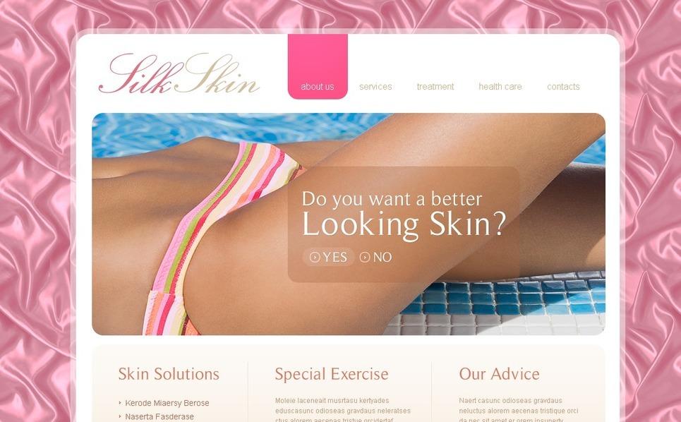 PSD šablona Kosmetický salon New Screenshots BIG