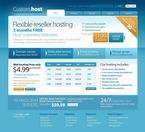Web Hosting PSD  Template 54519