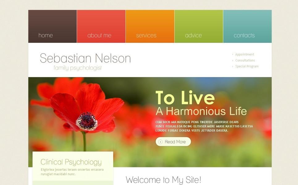 PSD Template over Familie  New Screenshots BIG