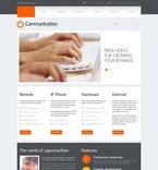 Communications PSD  Template 54526