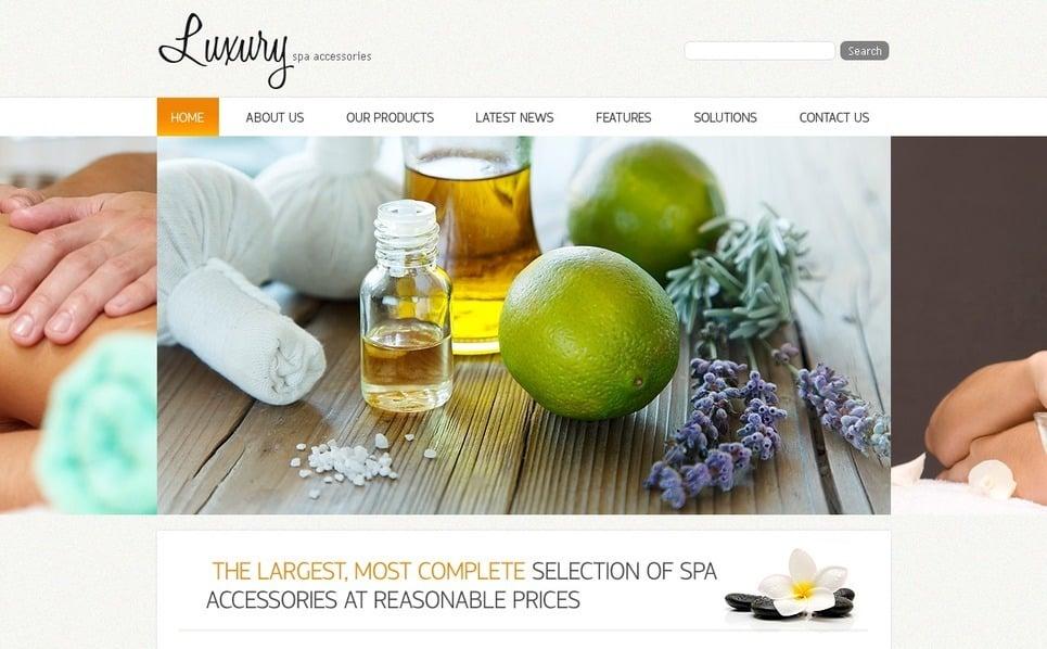 Szablon PSD #54530 na temat: akcesoria SPA New Screenshots BIG