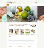Beauty PSD  Template 54530