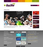 Web design PSD  Template 54532