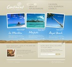 Travel PSD  Template 54536