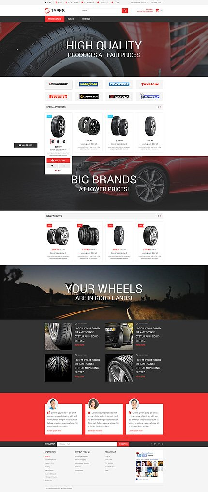 Magento Theme/Template 54541 Main Page Screenshot