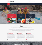 Sport Website  Template 54542