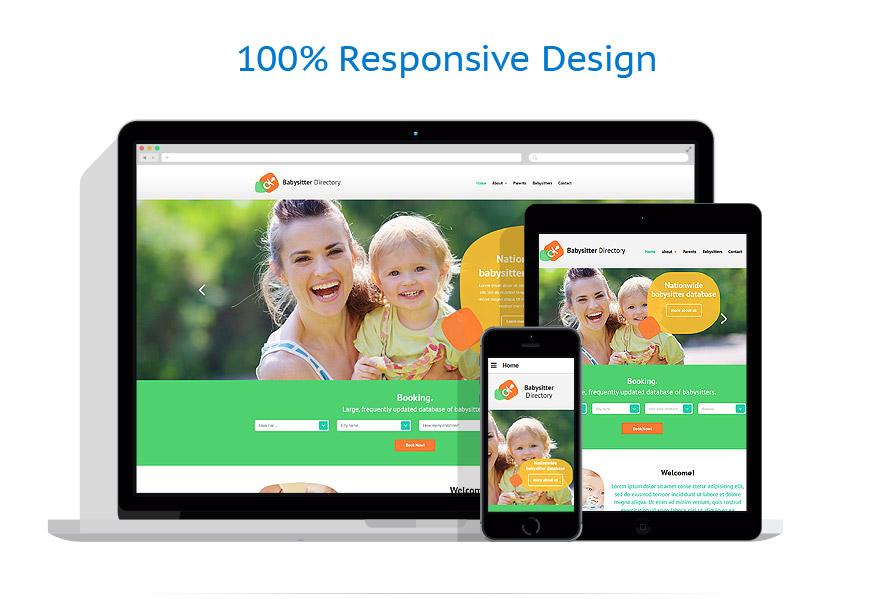 Modèles HTML5 Famille #54546