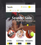 Sport Shopify Template 54548