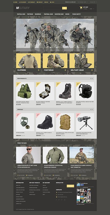Magento Theme/Template 54551 Main Page Screenshot