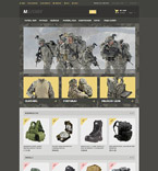 Military Magento Template 54551