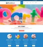 Entertainment Joomla  Template 54552