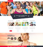 Travel Website  Template 54554