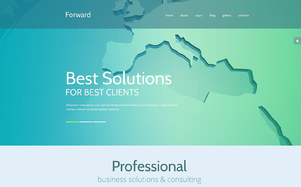Responsive Joomla Template over Business & Diensten New Screenshots BIG