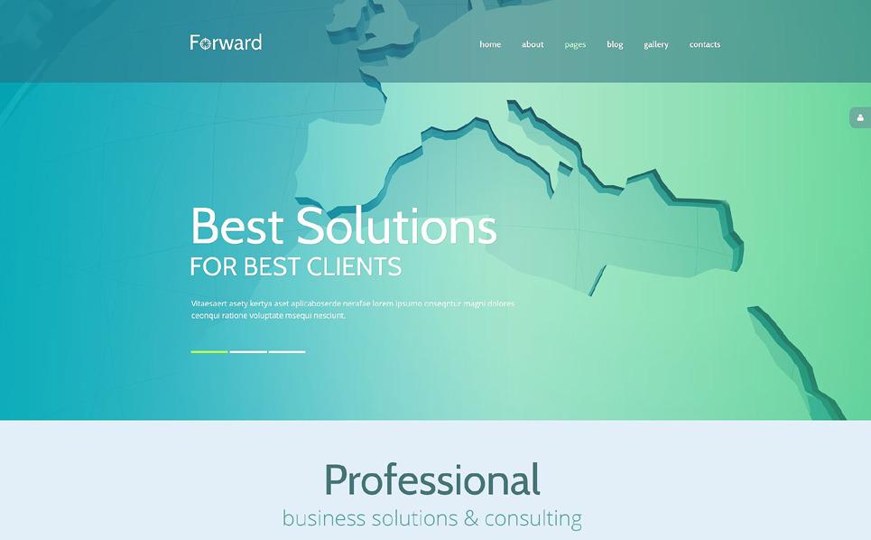 Reszponzív Üzlet és szolgáltatások Joomla sablon New Screenshots BIG