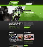 Sport Website  Template 54561