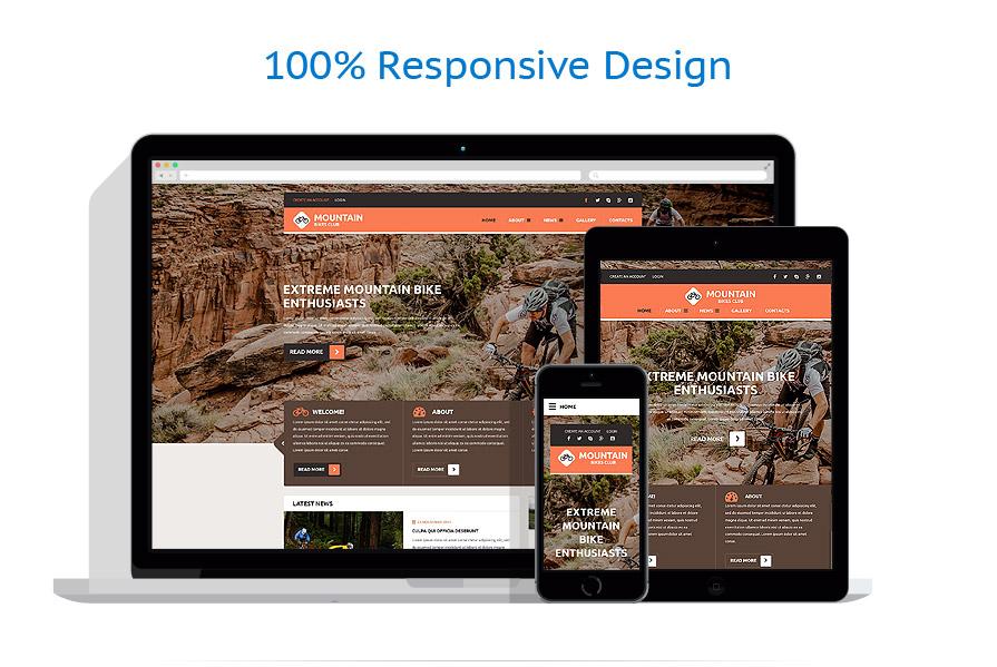Modèles HTML5 Sport #54564