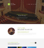 Music Website  Template 54565