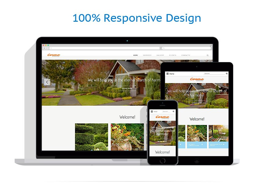 Exterior design website template 54566 for Exterior design website templates