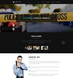 Security Website  Template 54568