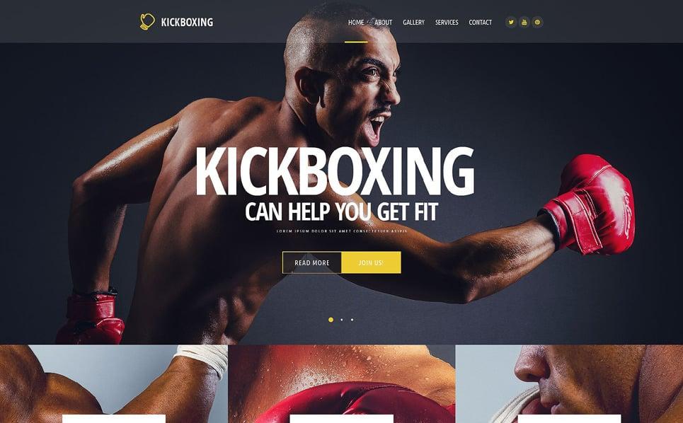 Template Web Flexível para Sites de Boxe №54569 New Screenshots BIG