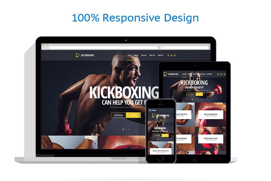 Modèles HTML5 Sport #54569