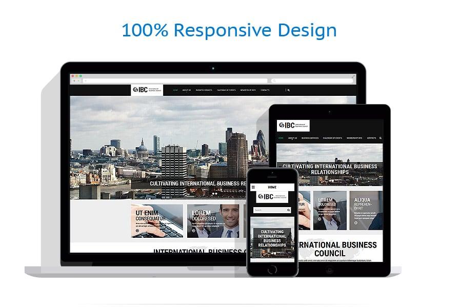Modèles HTML5 Affaires #54570