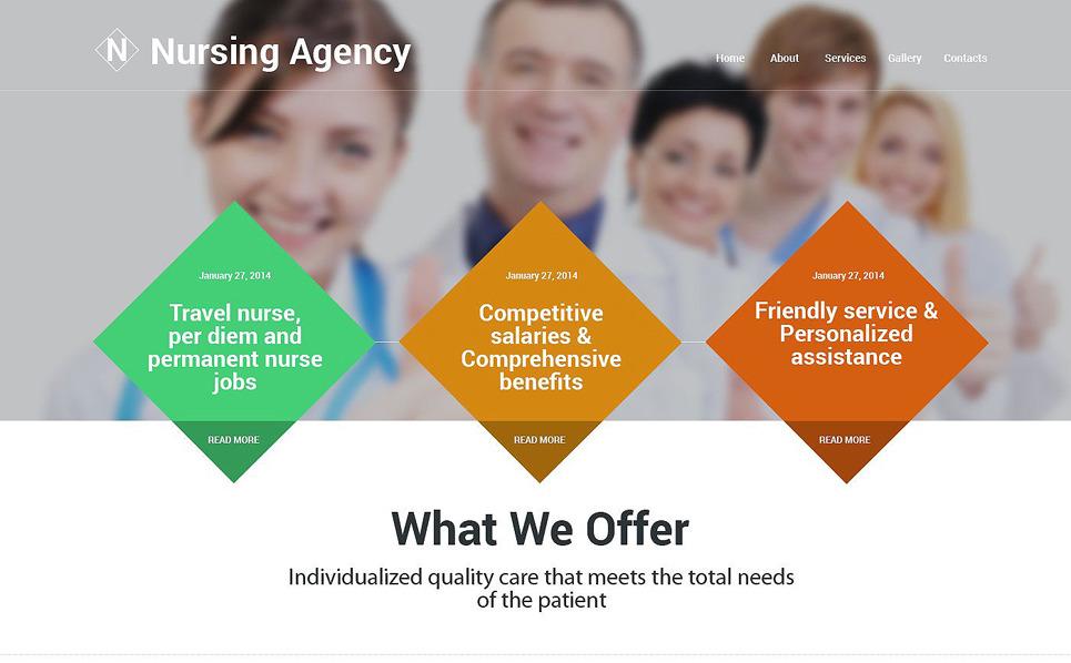 Modèle Web adaptatif  pour site médical New Screenshots BIG