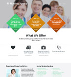 Medical Website  Template 54572