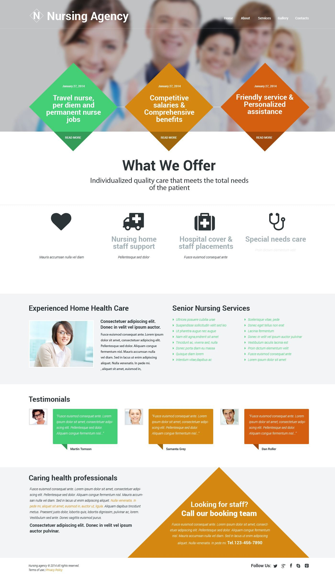 The Nursing Agency Responsive Javascript Animated Design 54572, one of the best website templates of its kind (medical, most popular), also known as nursing agency website template, services website template, providing website template, certified caregivers website template, clients website template, looking care and related with nursing agency, services, providing, certified caregivers, clients, looking care, etc.