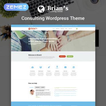 Купить  пофессиональные WordPress темы. Купить шаблон #54575 и создать сайт.