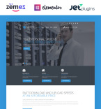 Communications WordPress Template 54577