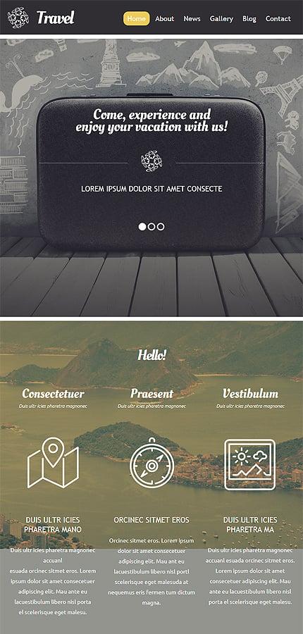 WordPress Theme/Template 54580 Main Page Screenshot