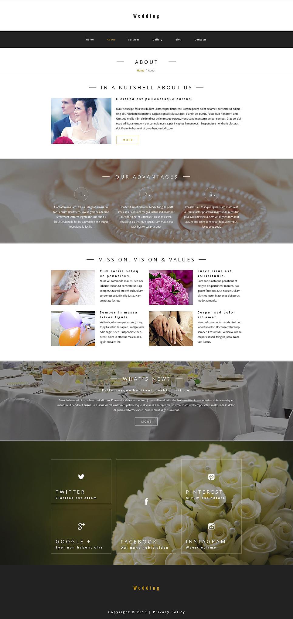 Wedding - Wedding Salon Multipurpose Modern WordPress Elementor Theme WordPress Theme