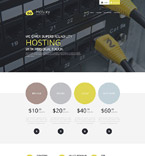 Web Hosting WordPress Template 54586