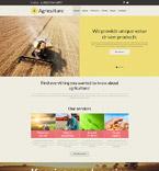 Agriculture Joomla  Template 54587